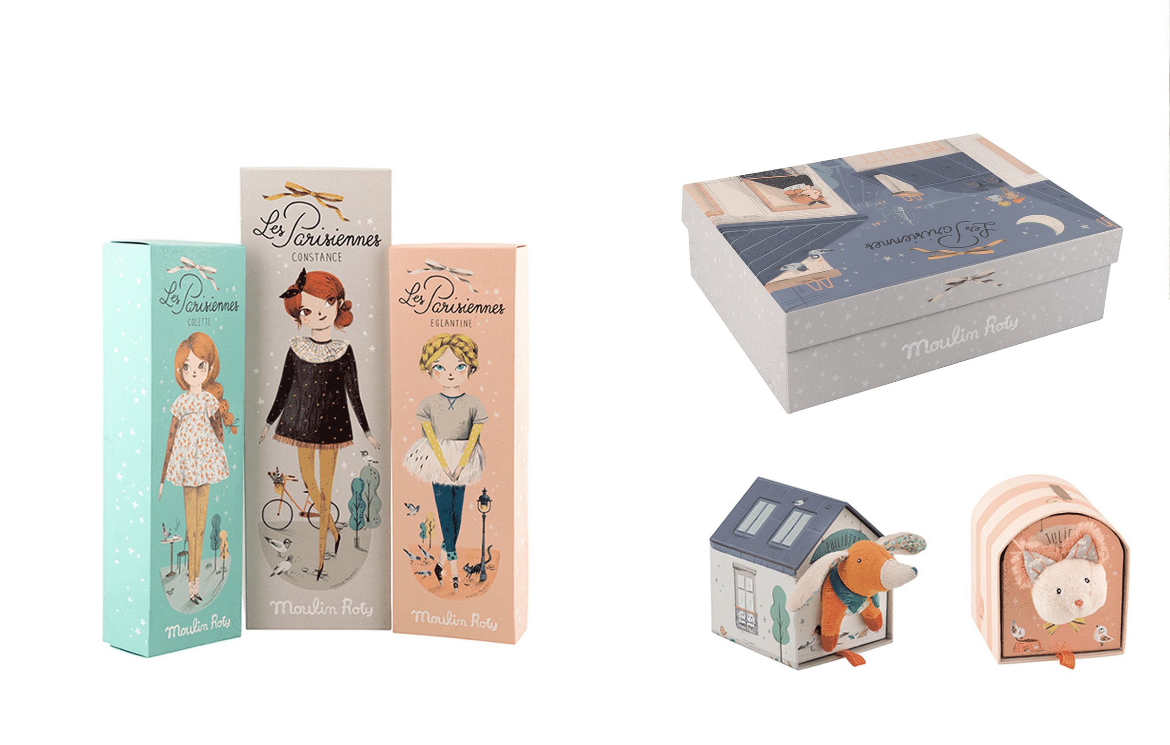 Packaging - Collection Les Parisiennes